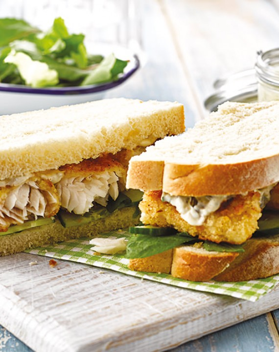 Chunky Fish Finger Sandwiches