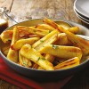 Roasted Parsnips with Honey Mustard Dressing
